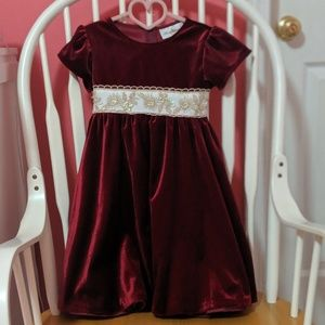Rare Editions Girls Holiday Dress